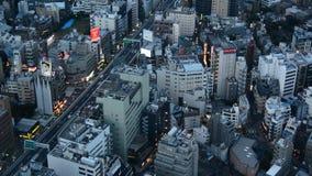 De horizon van Tokyo stock videobeelden
