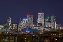 De horizon van Toronto Royalty-vrije Stock Foto