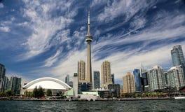 De horizon van Toronto royalty-vrije stock fotografie