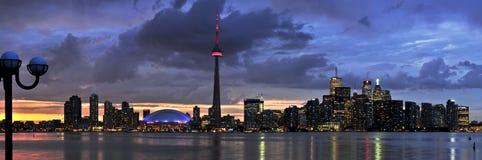 De horizon van Toronto Stock Foto