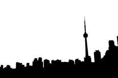 De horizon van Toronto Canada stock foto's