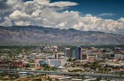 De Horizon van Tucson van Schildwachtpiek stock foto