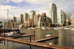 De horizon van Vancouver Stock Fotografie