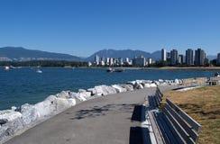 De horizon van Vancouver Stock Foto's