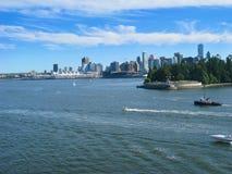 De Horizon van Vancouver Royalty-vrije Stock Foto's