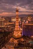 De horizon van Vegas van Las Royalty-vrije Stock Afbeeldingen
