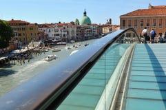 De horizon van Venetië Stock Foto