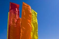 De horizon van vlaggen Royalty-vrije Stock Fotografie