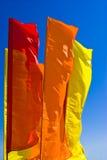 De horizon van vlaggen Royalty-vrije Stock Foto's