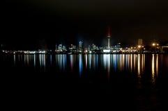 De horizonlandschap van Auckland Royalty-vrije Stock Foto's