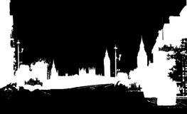 De horizonnen van de stad vector illustratie