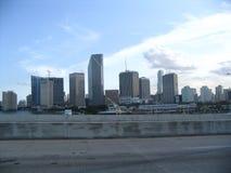 De horizonnen van Miami stock foto's