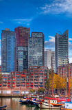 De horizonnen van Rotterdam Stock Afbeelding