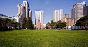 De horizonnen van San Francisco Royalty-vrije Stock Afbeeldingen