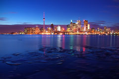 De Horizonnen van Toronto Royalty-vrije Stock Afbeeldingen