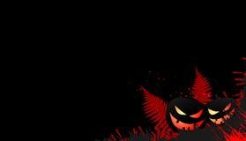 De horizontale banners van Halloween Royalty-vrije Stock Foto