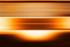 De horizontale oranje abstracte achtergrond van de straatmuur Stock Afbeelding