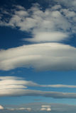 De horizontale wolken van Nice Royalty-vrije Stock Foto