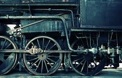 De horizontale zuurrijke versie van de stoommotor Royalty-vrije Stock Foto