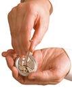 De horlogemaker Stock Fotografie