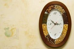 De horloges van de keuken Stock Afbeeldingen