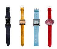 De Horloges van de kleur Stock Foto's
