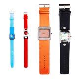 De Horloges van de kleur Royalty-vrije Stock Fotografie