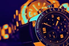 De horloges van de luxe Stock Foto's