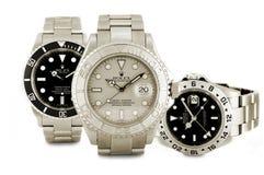 De horloges van Rolex Stock Afbeelding