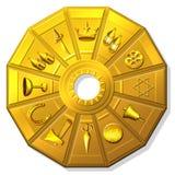 De horoscoop van zigeuners Stock Afbeeldingen