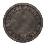 De horoscoopdierenriem ondertekent cyclus het 3d teruggeven vector illustratie