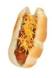 De hotdog van de Spaanse peper stock foto