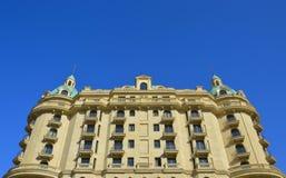 De hotelbouw Royalty-vrije Stock Foto's