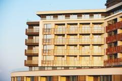 De hotelbouw Stock Afbeeldingen