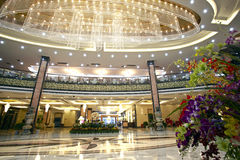 De hotelhal Stock Foto