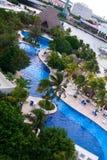 De hotels van Cancun Royalty-vrije Stock Afbeelding