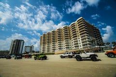 De hotels van Daytona Beach Stock Fotografie