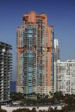 De Hotels van het zuidenstrand, Miami. stock afbeeldingen