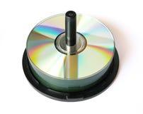 De houder van CD stock foto's