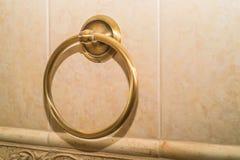 De houder van de ringshanddoek Stock Foto