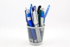De houder van het potlood Stock Fotografie