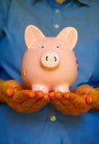 De houder van het varken Stock Afbeeldingen