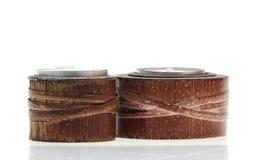 De houders van de bamboekaars Royalty-vrije Stock Foto's