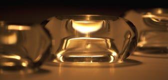 De houders van Tealight Stock Afbeelding