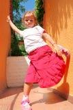 De houding van Girly Stock Foto's