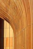 De houten abstracte achtergrond van de architectuur Stock Afbeeldingen