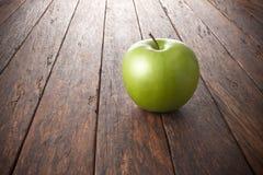 De Houten Achtergrond van Apple Stock Fotografie