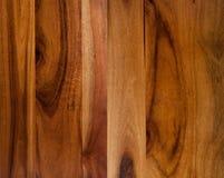 De houten achtergrond van de acacia Royalty-vrije Stock Foto's