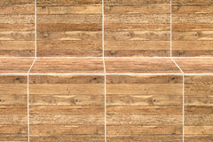 De houten achtergrond van de banktextuur Stock Afbeelding