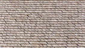 De houten achtergrond van de daktegel Royalty-vrije Stock Fotografie